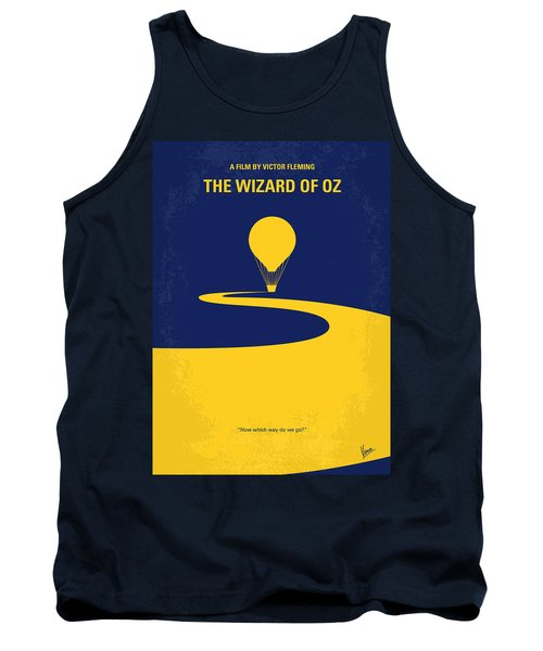 No177 My Wizard Of Oz Minimal Movie Poster Tank Top