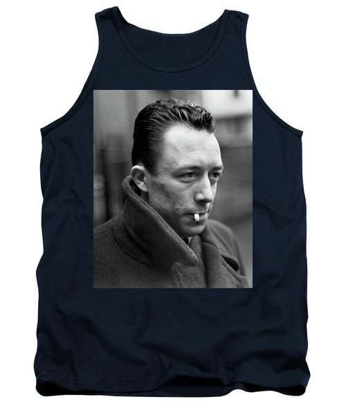 Nobel Prize Winning Writer Albert Camus Unknown Date #1 -2015 Tank Top by David Lee Guss