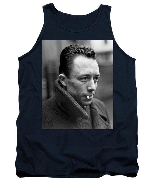 Nobel Prize Winning Writer Albert Camus Paris, France, 1962 -2015 Tank Top