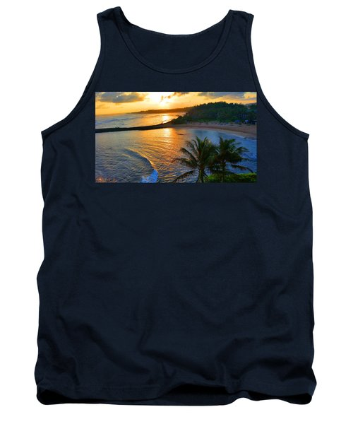North Shore Of Oahu  Tank Top by Michael Rucker