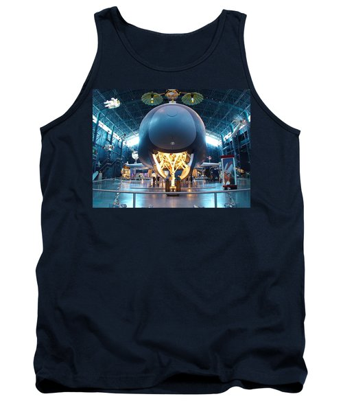 Tank Top featuring the photograph Nose Down - Enterprise by Charles Kraus