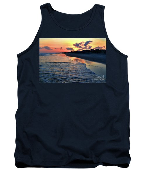Oak Island Pastel Sunset Tank Top