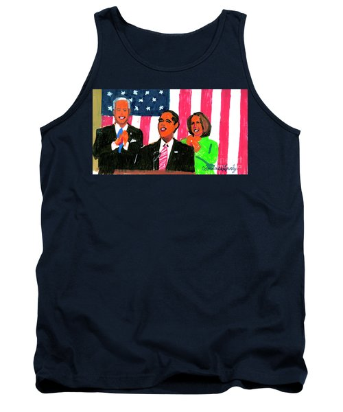 Obama's State Of The Union '10 Tank Top