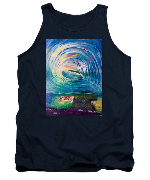 Ocean Reef Beach Tank Top by Dawn Harrell