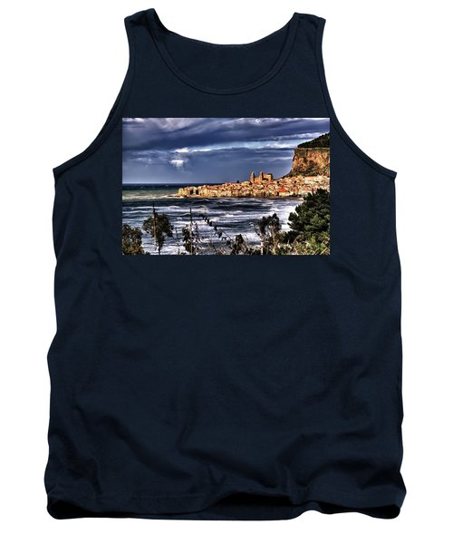 Old Coastal City  Tank Top by Patrick Boening