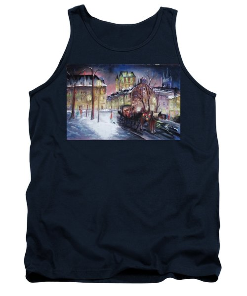 old Quebec Tank Top by Peter Suhocke