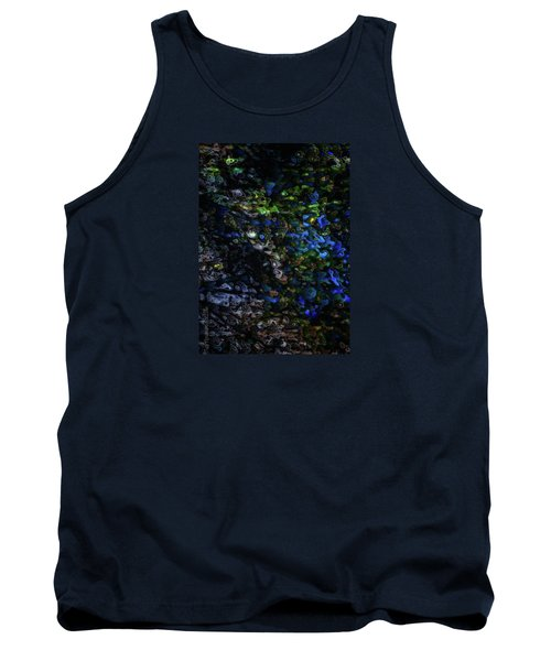 Tank Top featuring the digital art On A Cold Winter Night by Mimulux patricia no No