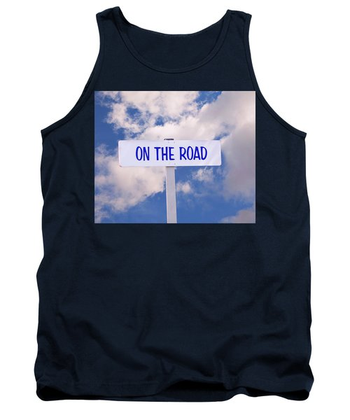 On The Road Sign Tank Top