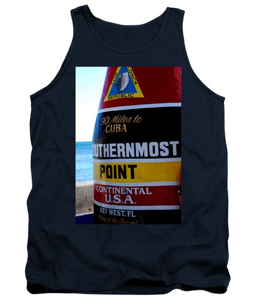 Only 90 Miles To Cuba Tank Top