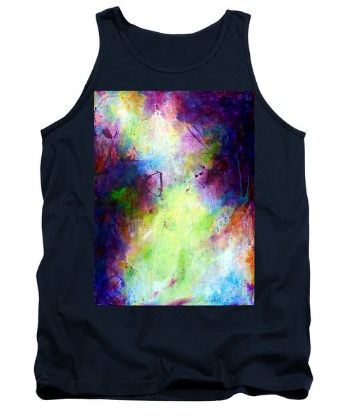 Only Time Will Tell Tank Top by Tracy Bonin