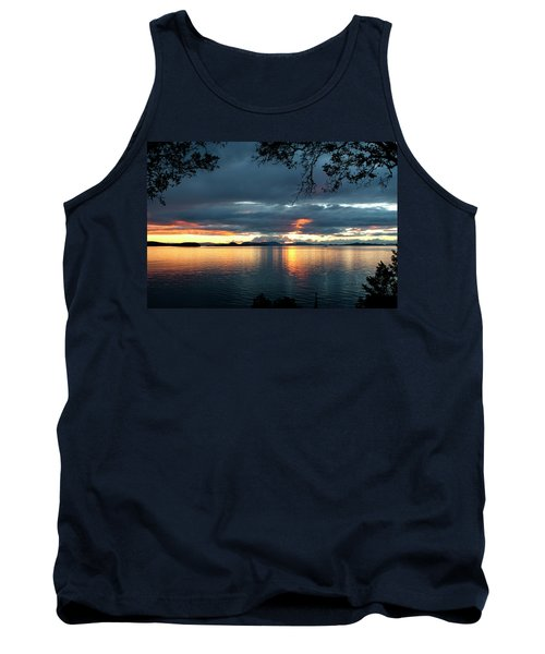 Orcas Island Sunset Tank Top