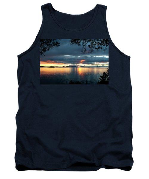 Orcas Island Sunset Tank Top