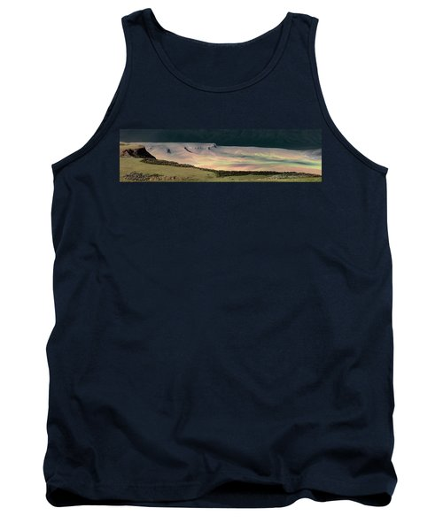Oregon Canyon Mountain Layers Tank Top by Leland D Howard