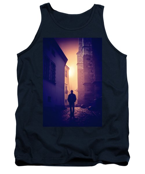 Tank Top featuring the photograph Out Of Time by Jenny Rainbow