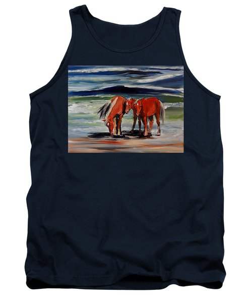 Outer Banks Wild Horses Tank Top