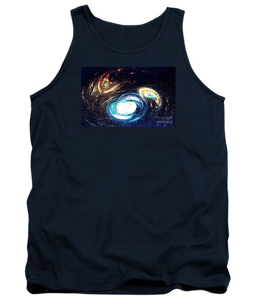 Oval Dream - Modern Art Tank Top by Merton Allen