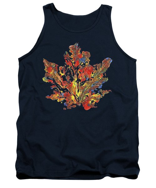 Tank Top featuring the painting Painted Nature 1 by Sami Tiainen