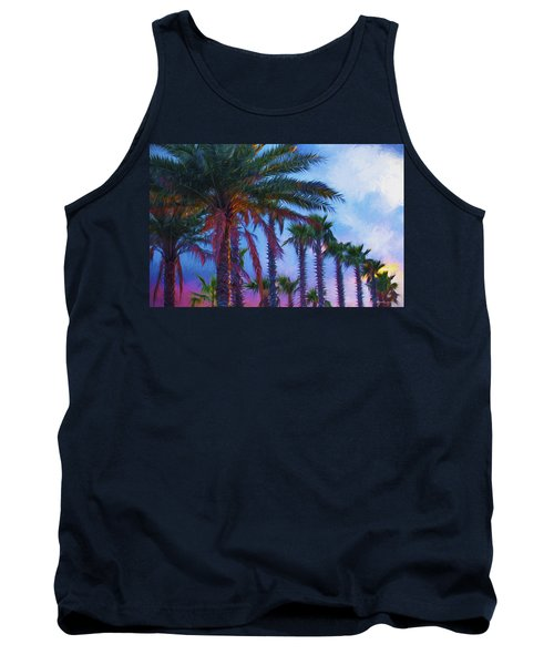 Palm Trees 3 Tank Top