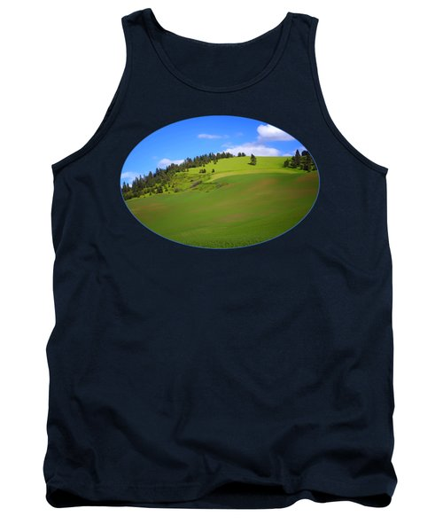 Palouse - Landscape - Transparent Tank Top
