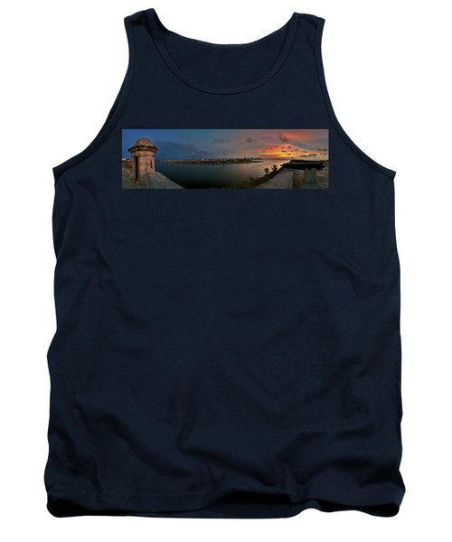 Panoramic View Of Havana From La Cabana. Cuba Tank Top
