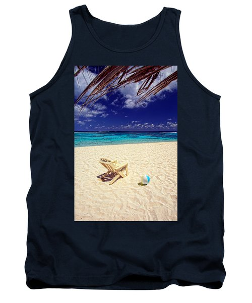 Paradise Beach Ball Tank Top