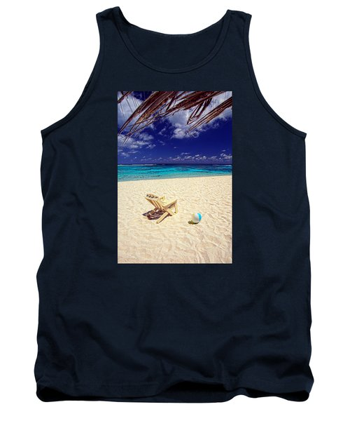 Paradise Beach Ball Tank Top