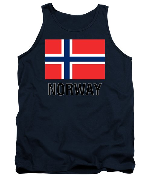 Parchment Flag Norway Tank Top