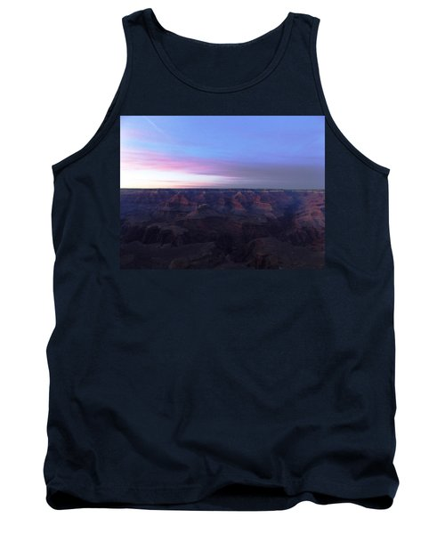 Pastel Sunset Over Grand Canyon Tank Top by Adam Cornelison