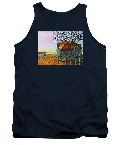 Path To The Past Tank Top by Jack G Brauer