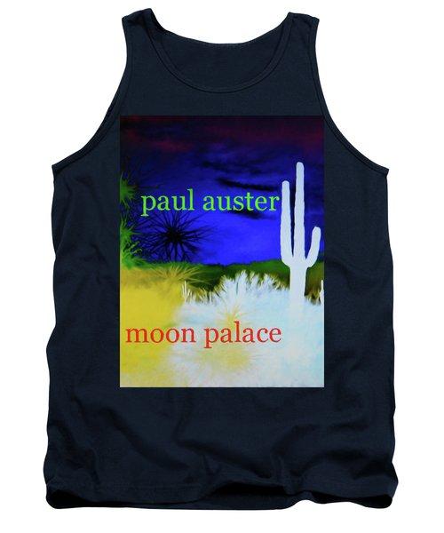 Paul Auster Poster Moon Palace Tank Top