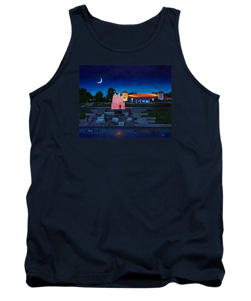 Pavilion Fountains Tank Top by Michael Frank