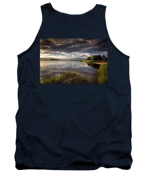Peace Along The Cape Fear Tank Top by Phil Mancuso
