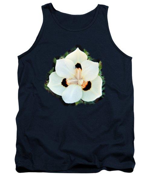 Peacock Flower T-shirt Tank Top