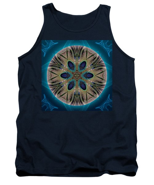 Peacock Power Tank Top