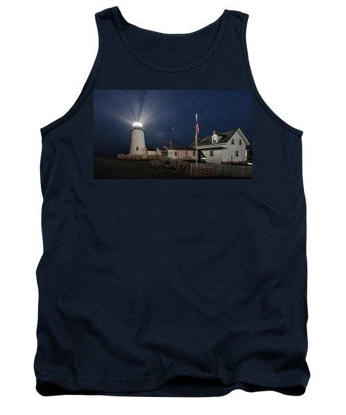 Pemaquid Point Light Flare Tank Top