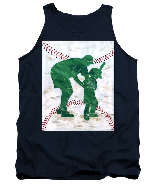 People At Work - The Little League Coach Tank Top by Lori Kingston