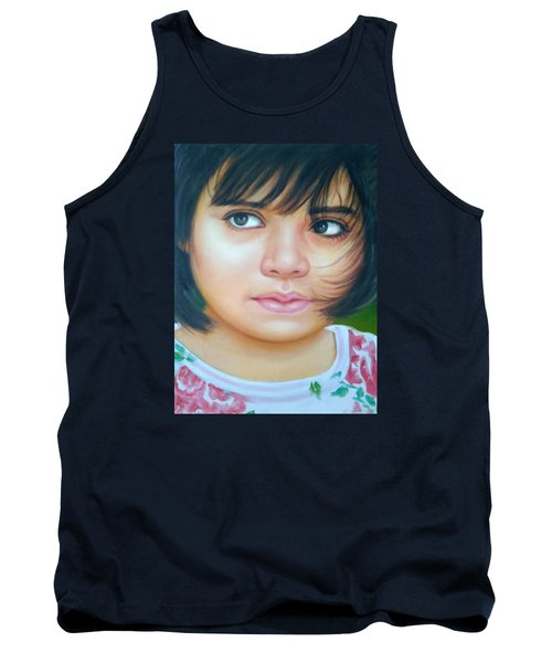 Perfect To Paint Tank Top by Khalid Saeed