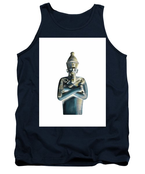 Tank Top featuring the digital art Pharaoh by Elizabeth Lock