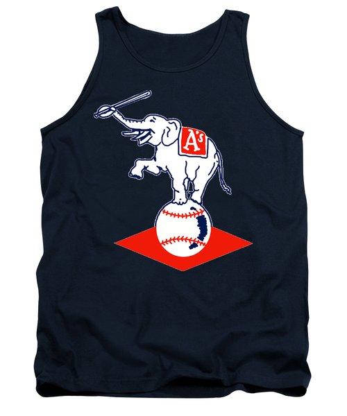 Philadelphia Athletics Retro Logo Tank Top by Spencer McKain
