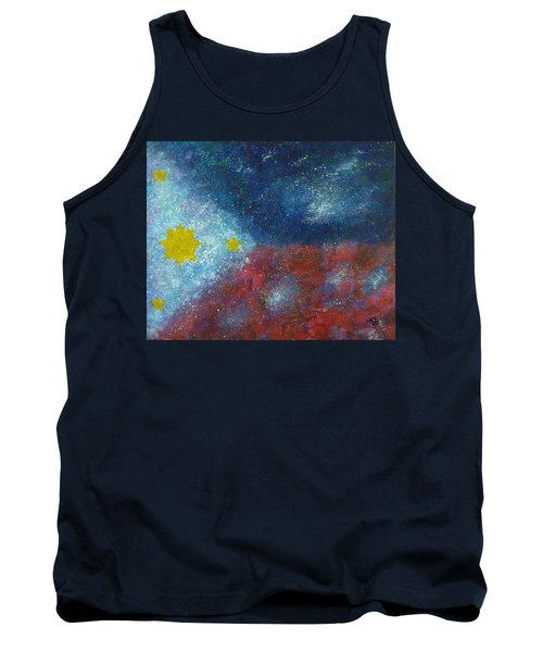 Philippine Flag Tank Top