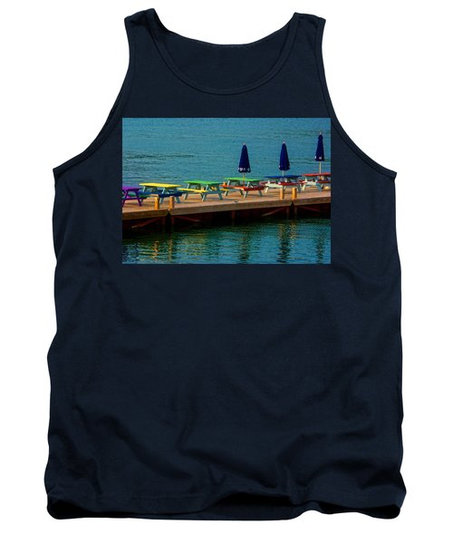 Picnic On The Water Tank Top