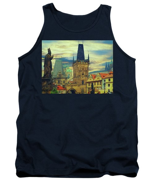Tank Top featuring the photograph Picturesque - Prague by Leigh Kemp
