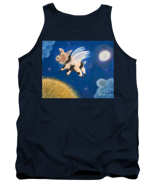 Pigs Might Fly Tank Top