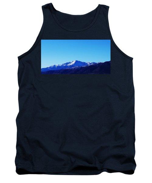 Tank Top featuring the photograph Pikes Peak by Joseph Frank Baraba