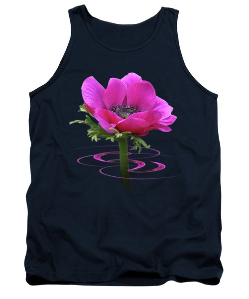 Pink Anemone Whirl Tank Top