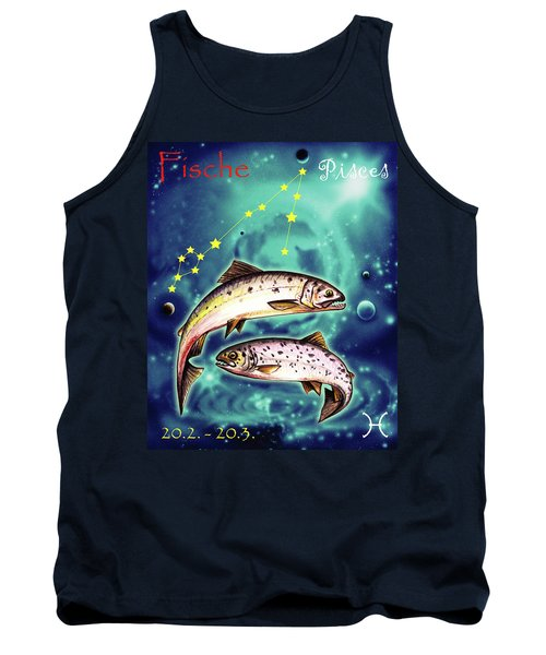 Pisces In The Sky Tank Top