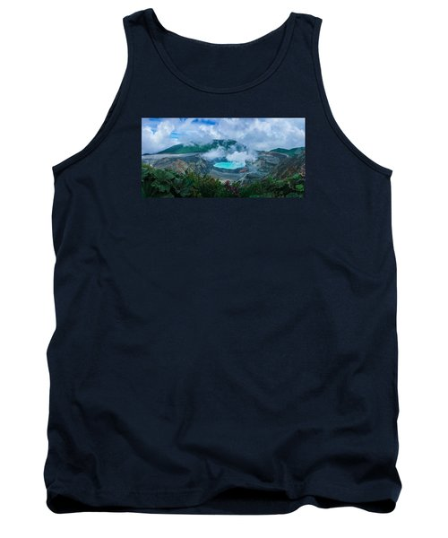 Tank Top featuring the photograph Poas Volcano, Costa Rica by RC Pics