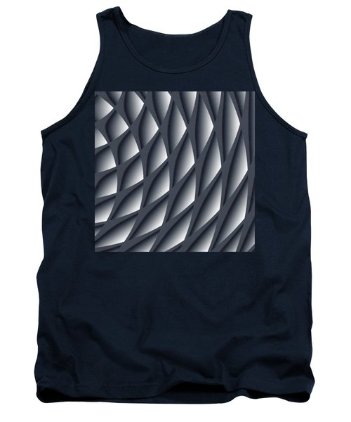 Points Abstract Colour Choice Tank Top by Barbara Moignard