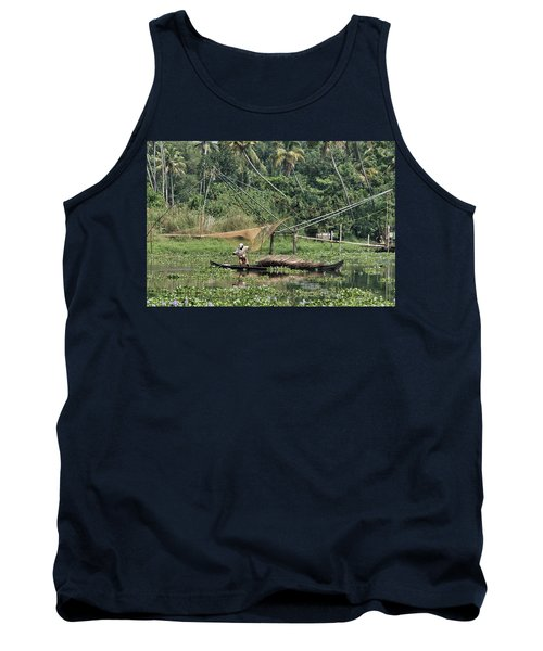 Tank Top featuring the photograph Pole Position by Marion Galt