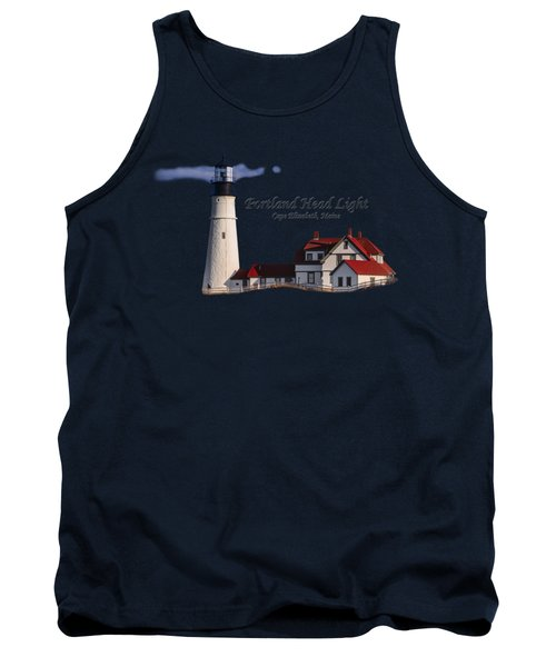 Portland Head Light No. 43 Tank Top